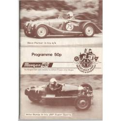 MORGAN 1980 - PROGRAMME 50P