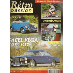 RETRO PASSION FACEL VEGA FV3B 1957 N°137
