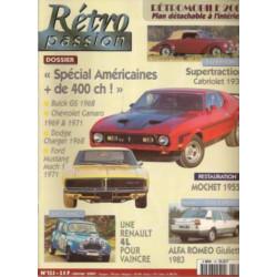 RETRO PASSION BUICK / CAMARO / DODGE / MUSTANF N°125