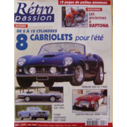 RETRO PASSION CABRIOLETS DE 2 A 12 CYLINDRES N°117