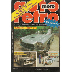 AUTO RETRO MASERATI 3500 GT N°22
