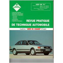 "REVUE TECHNIQUE AUTOMOBILE AUDI 100 ""91"""
