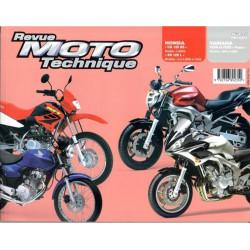 REVUE MOTO TECHNIQUE HONDA CG et XR 125 de 2004 - RMT 135