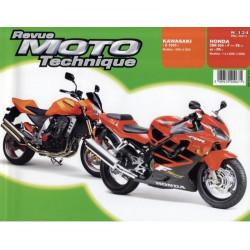 REVUE MOTO TECHNIQUE KAWASAKI Z1000 de 2003 et 2004 - RMT 134