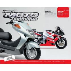REVUE MOTO TECHNIQUE HONDA 125 FES de 998 à 2002 - RMT 132