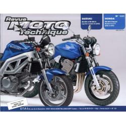 REVUE MOTO TECHNIQUE HONDA CBF 900 HORNET de 2002 et 2003 - RMT 131