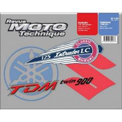 REVUE MOTO TECHNIQUE YAMAHA TDM 900 de 2002 et 2003 - RMT 130