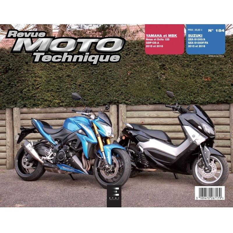 livre revue moto technique suzuki gsx 1000 de 2015 et 2016 rmt 184 ebay. Black Bedroom Furniture Sets. Home Design Ideas