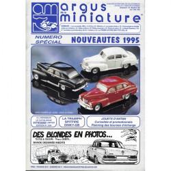 ARGUS MINIATURE N°172 - SPECIAL NOUVEAUTES 1995