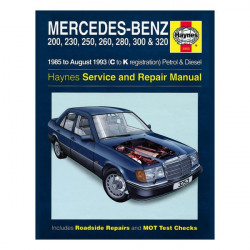 Mercedes 200, 230, 250, 260, 280, 300 & 320 85-93 service and repair manual