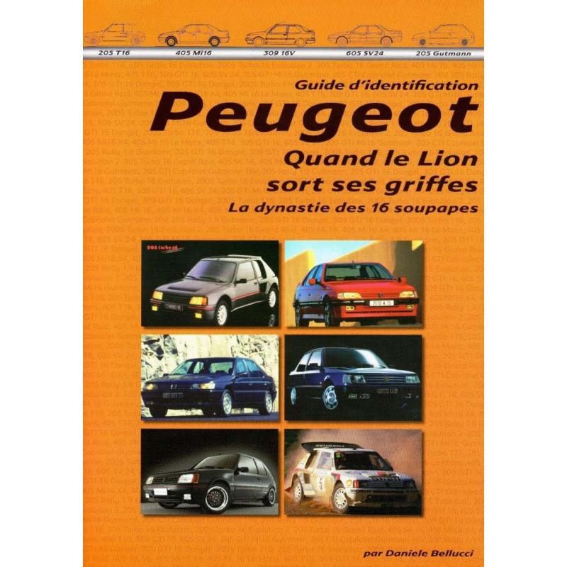Objets publicitaires et promotionnels PEUGEOT 405 Peugeot-la-dynastie-des-seize-soupapes-le-guide-didentification