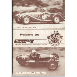 MORGAN 1980 - PROGRAMME 50P BEAULIEU & GOODWOOD Librairie Automobile SPE beaulieu