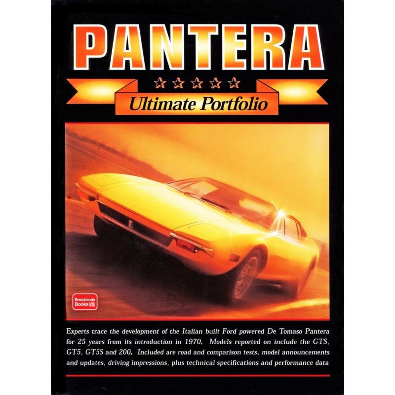 PANTERA - ULTIMATE PORTFOLIO Librairie Automobile SPE 9781855205802