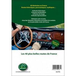 LES 40 PLUS BELLES ROUTES DE FRANCE - ROADBOOK AUTO ET MOTO Librairie Automobile SPE 9782362140334