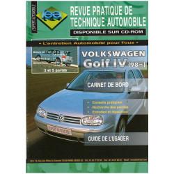 REVUE TECHNIQUE AUTOMOBILE GOLF IV DEPUIS 1998 Ess et D Librairie Automobile SPE 3176420603996