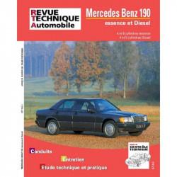REVUE TECHNIQUE MERCEDES 190 1982-1994 - RTA 465 Librairie Automobile SPE 9782726846537
