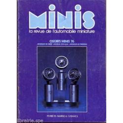 AUTO-MAGAZINE MINIS N°6 - RENAULT 17 TS 1/43° Librairie Automobile SPE MINIS6