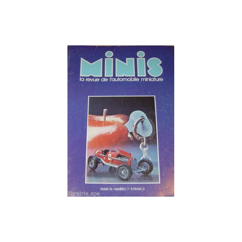 AUTO-MAGAZINE MINIS N°7 - DAIMLER DOUBLE SIX 1/43° Librairie Automobile SPE MINIS7