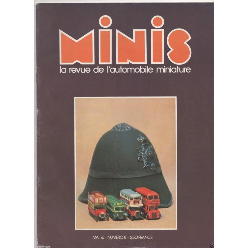 AUTO-MAGAZINE MINIS N°8 - EMW/AWE 1500CC Librairie Automobile SPE MINIS8