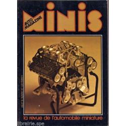 AUTO-MAGAZINE MINIS N°10 - CITROEN SM / V6 RENAULT GORDINI Librairie Automobile SPE MINIS10