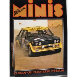 AUTO-MAGAZINE MINIS N°12 - FIAT ABARTH 131 / BUGATTI 35 Librairie Automobile SPE MINIS12