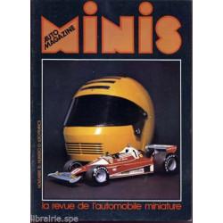 AUTO-MAGAZINE MINIS N°13 - FERRARI 312 T2 POLISTIL Librairie Automobile SPE MINIS13