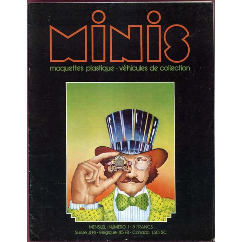 AUTO-MAGAZINE MINIS N°1 - MAQUETTES PLASTIQUE / VEHICULES DE COLLECTION Librairie Automobile SPE MINIS01