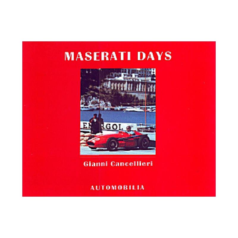 MASERATI DAYS Librairie Automobile SPE 9788879601016