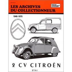 REVUE TECHNIQUE 2CV CITROËN 1947-1970 ARC 38 Librairie Automobile SPE 9782726899311