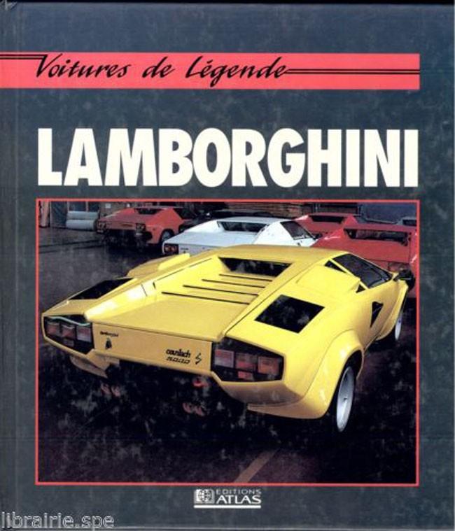 lamborghini - voitures de legende - librairie automobile et
