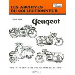 REVUE TECHNIQUE PEUGEOT 125-150-175 ET 250 ARC104 Librairie Automobile SPE 9782726899427