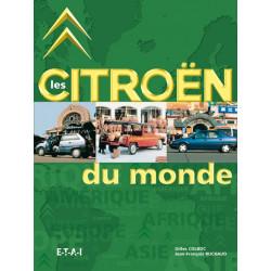 LES CITROEN DU MONDE Librairie Automobile SPE 20503