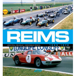 REIMS 1925-1970 Librairie Automobile SPE 9782910434472