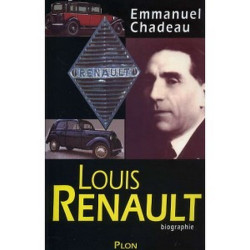 LOUIS RENAULT - Biographie Librairie Automobile SPE 9782259186094
