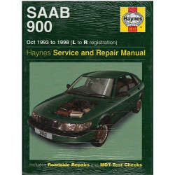 SAAB 900 OWNERS WORKSHOP MANUEL Librairie Automobile SPE 9781859605127