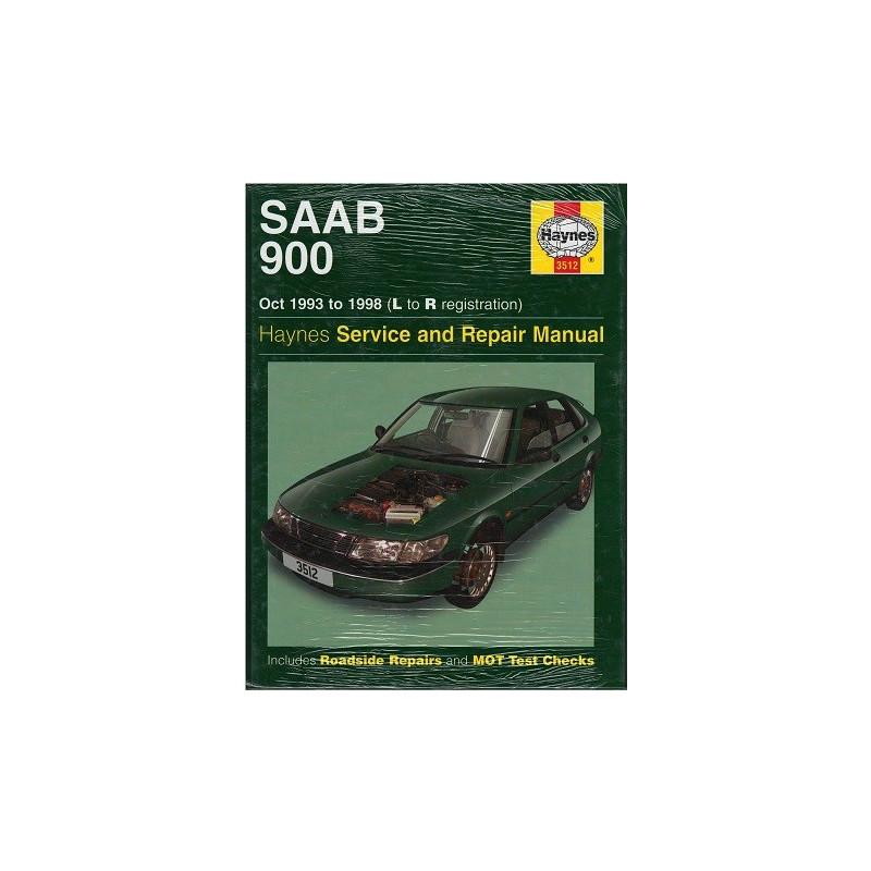 SAAB 900 OWNERS WORKSHOP MANUEL Librairie Automobile SPE 9781859605127