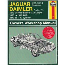 JAGUAR DAIMLER OWNERS WORKSHOP MANUAL / HAYNES Librairie Automobile SPE 478