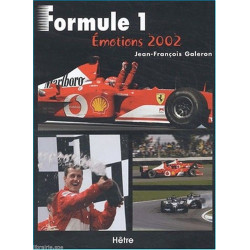 FORMULE 1 - EMOTION 2002 Librairie Automobile SPE 9782911639203