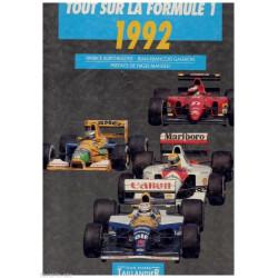 TOUT SUR LA FORMULE 1 - 1992 Librairie Automobile SPE 9782876361072