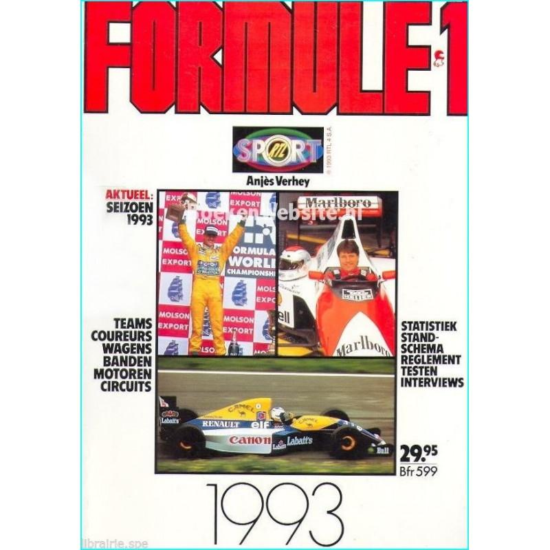 FORMULE 1 ( 1993 ) Librairie Automobile SPE f93