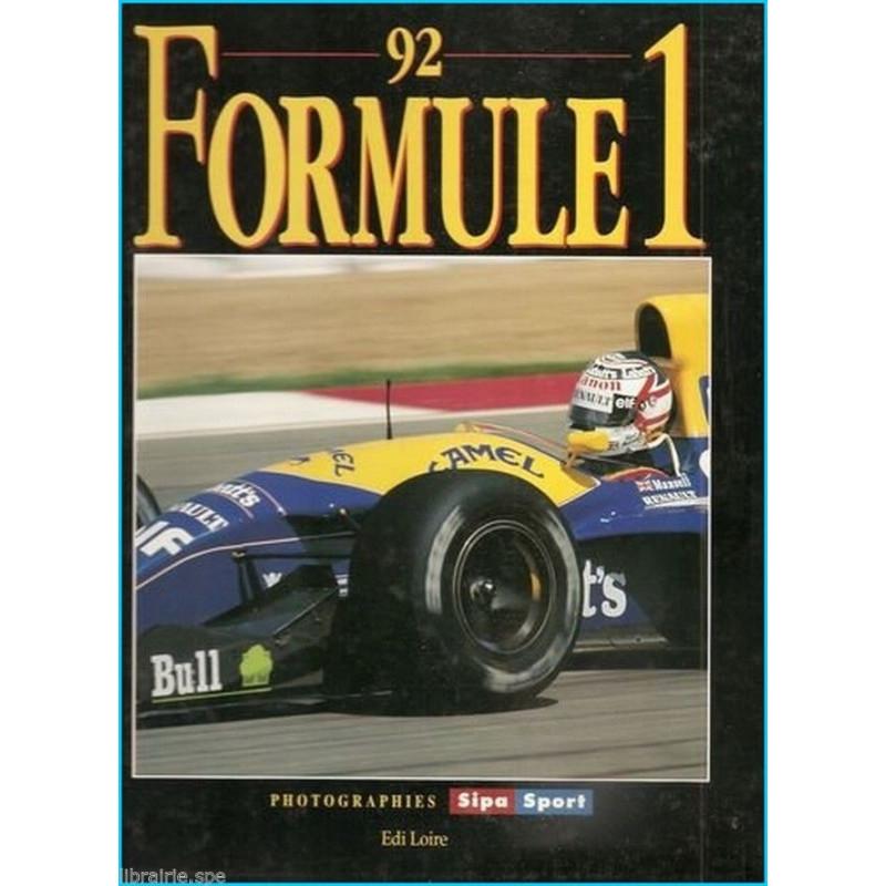 FORMULE 1 ( 1992 ) Librairie Automobile SPE 9782840840022
