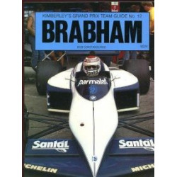 BRABHAM - KIMBERLEY'S GRAND PRIUX TEAM GUIDE N°12 Librairie Automobile SPE 0946132151
