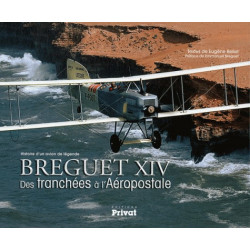 HISTOIRE D'UN AVION DE LEGENDE - BREGUET XIV, DES TRANCHEES A L'AEROPOSTALE