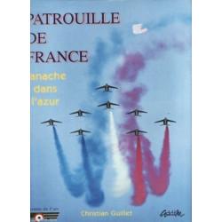 PATROUILLE DE FRANCE - PANACHE DANS L'AZUR
