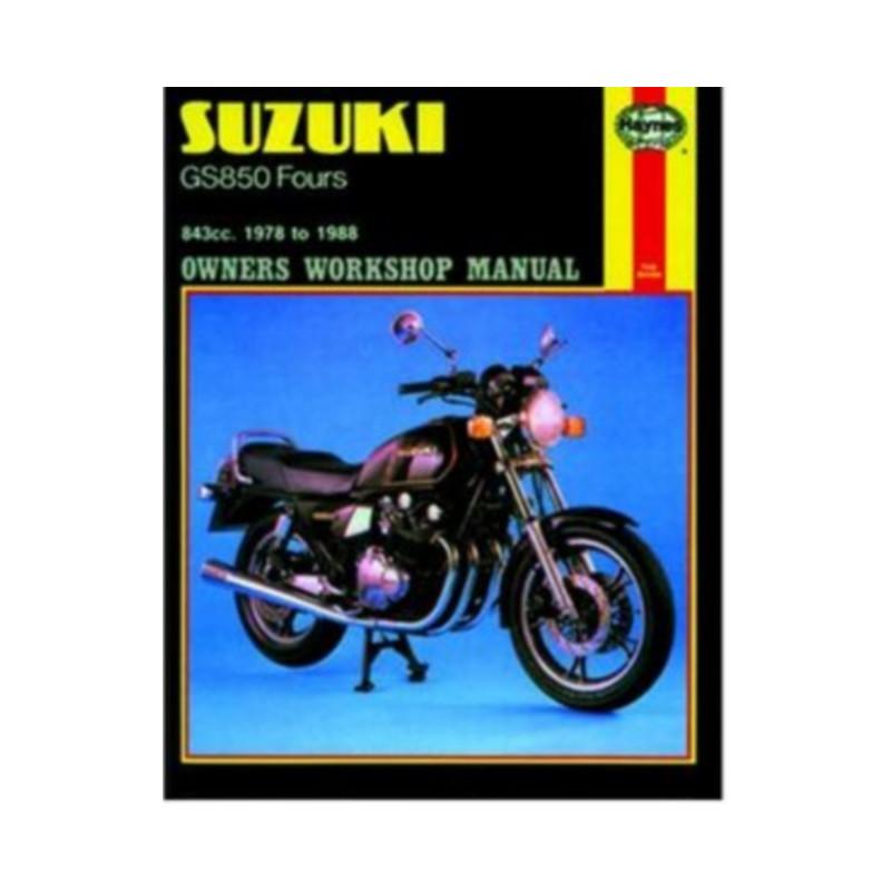 SUZUKI GS850 FOURS 1978/1980 - OWNERS WORKSHOP MANUAL Librairie Automobile SPE 9781850105718