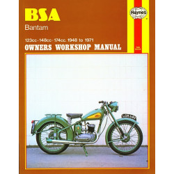 BSA BANTAM 1948/1971 - OWNERS WORKSHOP MANUAL Librairie Automobile SPE 9780856961175