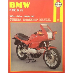 BMW K100 & 75 1983/1987 - OWNERS WORKSHOP MANUAL