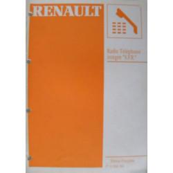 MANUEL DE REPARATION RENAULT RADIO TELEPHONE INTEGRE SFR Librairie Automobile SPE 7711096160