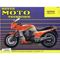 REVUE MOTO TECHNIQUE KAWASAKI NINJA 750 - RMT 59 Librairie Automobile SPE 9782726890530