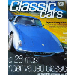 CLASSIC CARS - THE 26 MOST UNDER-VALUED CLASSICS Librairie Automobile SPE 07447074526